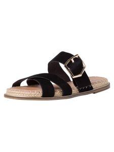 Tamaris Damen Pantolette schwarz 1-1-27134-36 Größe: 39 EU