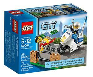 Lego 60041 City - Polizei-Motorrad-Jagd