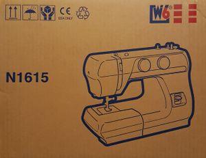 W6 Freiarm Super Nutzstich-Nähmaschine; N 1615