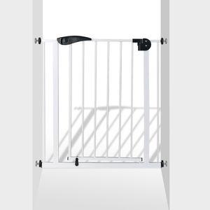 Türschutzgitter Türgitter Treppengitter BL2 aus Metall weiß 75-85 cm