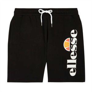 Ellesse Herren Bossini Fleece Sweat Shorts, Schwarz S