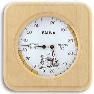 TFA Dostmann Sauna Thermo-Hygrometer Klimamesser