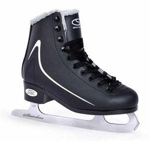 SMJ CALGARY Damen Schlittschuhe Eiskunstlauf Eislaufschuhe Klassische Eislauf - Größe: 41