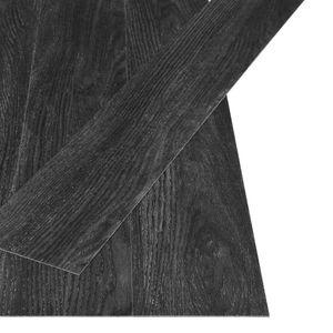 vidaXL PVC Laminat Dielen Selbstklebend 4,46 m² 3 mm Eiche-Anthrazit