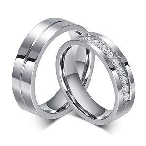 Eheringe  Edelstahl: Ring / Trauring / Partnerring, Ringgrösse:58 (18.4 mm Ø), Modell:Herrenring