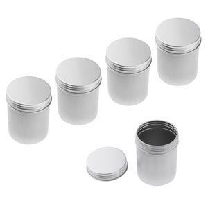 5pcs 80ml Aluminium Cremedose Leerdose Blechdose Kosmetikdosen