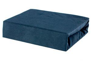 Bettlaken Spannbettlaken Laken aus Baumwolle 100% Jersey – 80x160 Schwarz