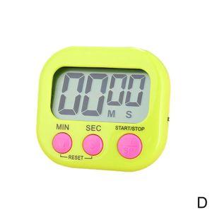 Unten Up Clock Lauter Alarm Magnetische Küche Kochen Digital Timer Count Nizza
