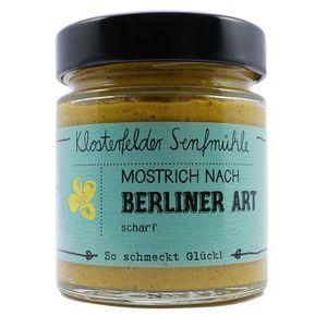 """Klosterfelder Senfmühle Mostrich """"Berliner Art"""" 190ml"""