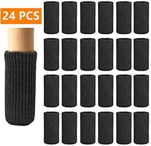 24 Stk Stuhlbeinschoner, Stuhlbeine, Socken, elastisch, dicke Unterseite