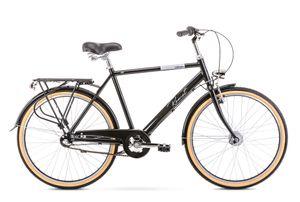 breluxx® 26 Zoll ALU Herrefahrrad Orion mit Rücktrittbremse, Nexus 3 Gang, black