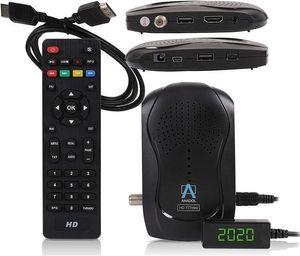 Anadol HD 777 1080p HDTV digitaler Mini Sat Receiver - energiesparender Full HD Minireceiver mit PVR Aufnahmefunktion Timeshift - Minisatreceiver mit vorinstallierten Astra Sendern - 12V Camping