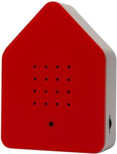 Zwitscherbox ZBRW, Rot, Weiß, 1 Stück(e), Drehregler, Box, AA, 110 mm