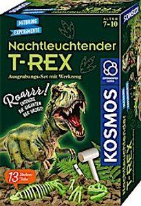 Kosmos T-REX nachtleuchtend Ausgrabungs-Set Experimentierkasten