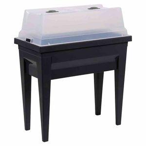 EDA 13923G.ANTCX4 Hochbeet VEG&Table City anthrazit grau, 57L (13923GANTCX4)