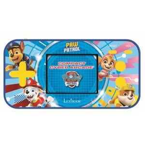 PAT 'PATROUILLE LEXIBOOK Kompakte tragbare Spielekonsole für Cyber Arcade-Kinder - 150 Spiele