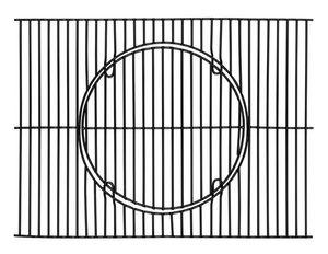 TEPRO-Universal Grillrost-Set, emailliert, mit Rost-in-Rost-System-schwarz-8245