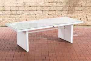 CLP Tisch Avignon, Farbe:weiß, Größe:220 cm