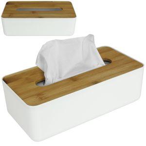 Taschentuchbox Bambus Tissuebox Kosmetiktuchbox Tücherbox Kosmetik Taschentuch Box Kosmetiktücherbox