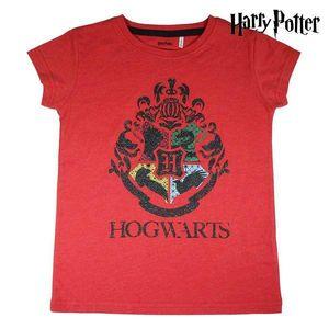 Kurzarm-T-Shirt für Kinder Harry Potter Rot 8 Jahre