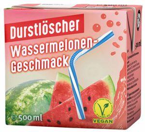 Durstlöscher Wassermelone Fruchtsaftgetränk Tetra Pack 500ml 48er Pack