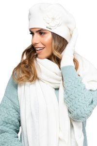 Damen Winterset Vicenza, Winter Set:Creme