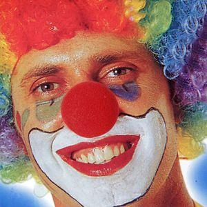 10pcs Roter Schaum Clown Nasen Kostüm Spaßvogel Cosplay