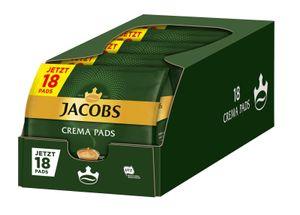 JACOBS Kaffeepads Crema Classic Senseo kompatible Kaffee Pads 5 x 18 Getränke