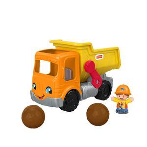 Fisher-Price Little People Kipplaster, Spielfiguren-Set, Spielzeugauto, Spielset