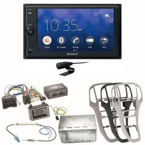 Sony XAV-V10BT Moniceiver Bluetooth Autoradio USB MP3 Einbauset für Opel Astra J