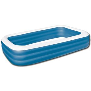 "Bestway Family Pool ""Blue Rectangular Deluxe"", 305 x 183 x 56 cm, 54009"