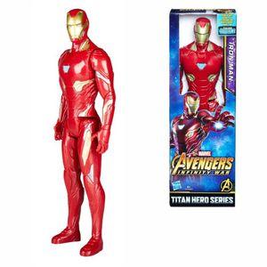 Hasbro Marvel Avengers Titan Hero Power FX Figur (Motivauswahl) Iron Man