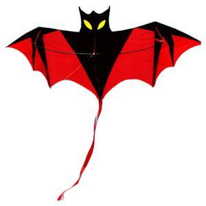 1,6 m Fledermaus Drachen (Rot), Breite 1,6 m Höhe 0,7 m Schwanz 1 m