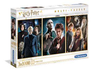 Clementoni 61884 Harry Potter 3x1000 Teile Puzzle