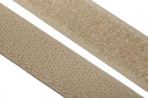 dalipo - Klettband  zum annähen, aufnähen - 20 mm Breite - beige