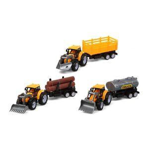 Traktor Gelb