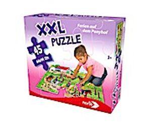 Noris Puzzle Ponyhof 45 Teile XXL