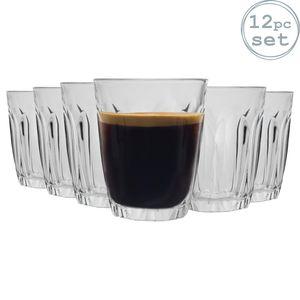 Provence - Trinkgläser - geeignet als Shotglas oder Espressoglas - 90 ml - 12 Stück