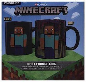 Paladone Products Minecraft Tasse mit Thermoeffekt Enderman PP6583MCF