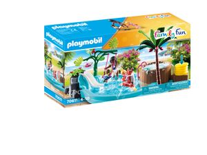 PLAYMOBIL Family Fun 70611 Kinderbecken mit Whirlpool