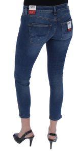 Tommy Jeans Scarlett Low Rise SKINNY Ankle Zip ADY Damen Jeans, Tommy Jeans Farben:Andrey Mid Blue Stretch, DAMEN JEANS:W30/L30