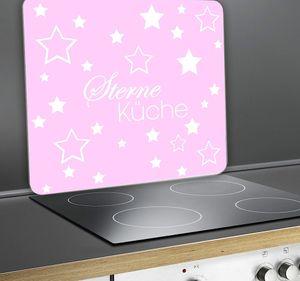 Wenko 2712977500 Multi-Platte Sterneküche für Glaskeramik Kochfelder,rosa