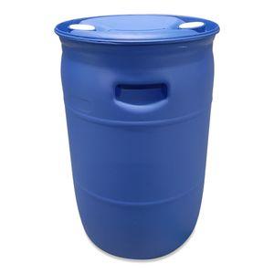 60 L Spundfass, L-Ring Fass, 60 Liter Wasserfass, Tonne, Fass, blau (60 Fass blau NEU)