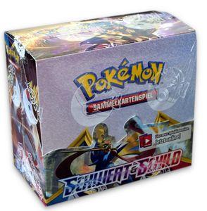Pokemon Schwert & Schild Booster 36er Display