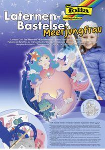 "folia Laternen-Bastelset ""Meerjungfrau"""