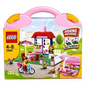 LEGO Pinkfarbener Koffer 10660