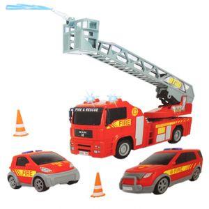 Dickie 203313323 S.O.S. Set - Polizei / Feuerwehr