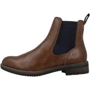 Tamaris Damen Stiefeletten Chelsea Boots 1-25312-27, Größe:39 EU, Farbe:Braun