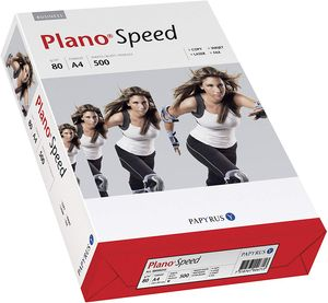 PAPYRUS Multifunktionspapier Plano Speed A4 80 g/qm weiß 500 Blatt
