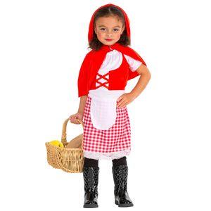 dressforfun Süßes Kinderkostüm Rotkäppchen - 128 (8-10 Jahre)